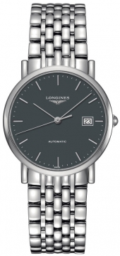 Longines Elegant Automatic 34.5mm Midsize watch, model number - L4.809.4.72.6, discount price of £960.00 from The Watch Source