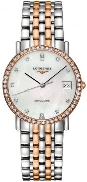 Longines Elegant Automatic 34.5mm Midsize watch, model number - L4.809.5.88.7, discount price of £2,930.00 from The Watch Source