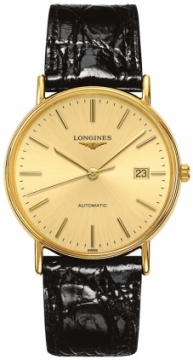 Longines Presence Automatic 38.5mm L4.921.2.32.2 watch