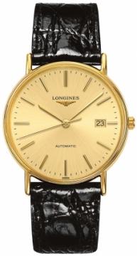 Longines Presence Automatic 38.5mm L4.921.2.32.2 watch