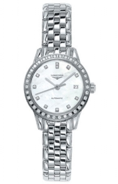 Longines Flagship Automatic Ladies watch, model number - L4.274.0.87.6, discount price of £1,815.00 from The Watch Source