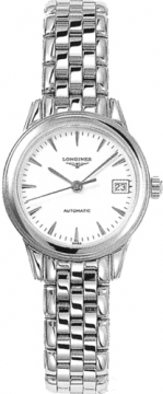 Longines Flagship Automatic Ladies watch, model number - L4.274.4.12.6, discount price of £807.00 from The Watch Source