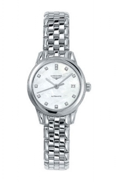 Longines Flagship Automatic Ladies watch, model number - L4.274.4.87.6, discount price of £1,045.00 from The Watch Source