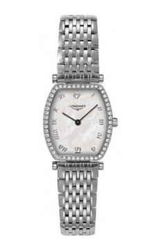 Buy this new Longines La Grande Classique Tonneau - Small L4.288.0.09.6 ladies watch for the discount price of £2,074.00. UK Retailer.