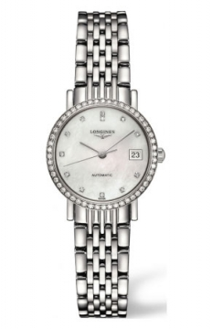 Longines Elegant Automatic 25.5mm Ladies watch, model number - L4.309.0.87.6, discount price of £2,142.00 from The Watch Source