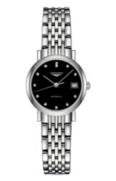 Longines Elegant Automatic 25.5mm Ladies watch, model number - L4.309.4.57.6, discount price of £1,085.00 from The Watch Source