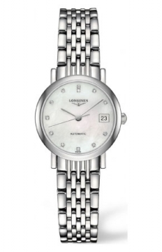 Longines Elegant Automatic 25.5mm Ladies watch, model number - L4.309.4.87.6, discount price of £1,085.00 from The Watch Source