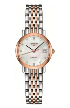 Longines Elegant Automatic 25.5mm Ladies watch, model number - L4.309.5.87.7, discount price of £1,394.00 from The Watch Source