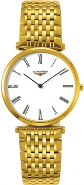 Longines La Grande Classique Quartz 33mm Midsize watch, model number - L4.709.2.11.8, discount price of £720.00 from The Watch Source