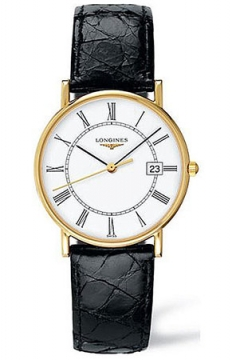 Longines La Grande Classique Presence Quartz Mens watch, model number - L4.743.6.11.0, discount price of £1,700.00 from The Watch Source