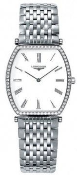 Longines La Grande Classique Tonneau - Large Midsize watch, model number - L4.788.0.11.6, discount price of £2,420.00 from The Watch Source