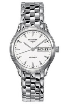 Longines Flagship Automatic Day Date Mens watch, model number - L4.799.4.12.6, discount price of £880.00 from The Watch Source