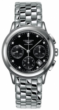 Longines Flagship Automatic Chronograph Mens watch, model number - L4.803.4.57.6, discount price of £1,564.00 from The Watch Source