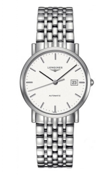 Longines Elegant Automatic 34.5mm Midsize watch, model number - L4.809.4.12.6, discount price of £960.00 from The Watch Source