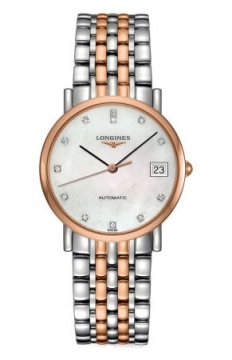 Longines Elegant Automatic 34.5mm Midsize watch, model number - L4.809.5.87.7, discount price of £1,520.00 from The Watch Source