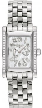 Longines DolceVita Quartz Ladies Mid-Size Ladies watch, model number - L5.502.0.97.6, discount price of £2,010.00 from The Watch Source