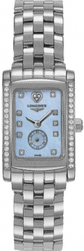 Buy this new Longines DolceVita Quartz 23mm L5.155.0.92.6 ladies watch for the discount price of £1,904.00. UK Retailer.