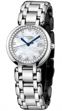 Longines PrimaLuna Quartz 26.5mm Ladies watch, model number - L8.110.0.87.6, discount price of £1,670.00 from The Watch Source