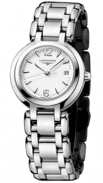 Longines PrimaLuna Quartz 26.5mm Ladies watch, model number - L8.110.4.16.6, discount price of £585.00 from The Watch Source