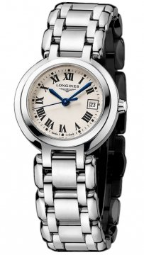 Longines PrimaLuna Quartz 26.5mm Ladies watch, model number - L8.110.4.71.6, discount price of £620.00 from The Watch Source