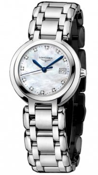 Longines PrimaLuna Quartz 26.5mm Ladies watch, model number - L8.110.4.87.6, discount price of £730.00 from The Watch Source