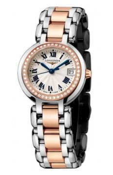 Longines PrimaLuna Quartz 26.5mm Ladies watch, model number - L8.110.5.79.6, discount price of £2,550.00 from The Watch Source