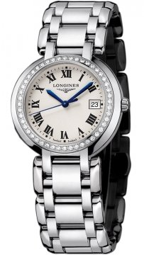 Longines PrimaLuna Quartz 30mm Ladies watch, model number - L8.112.0.71.6, discount price of £1,640.00 from The Watch Source