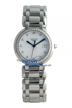 Longines PrimaLuna Quartz 30mm Ladies watch, model number - L8.112.0.87.6, discount price of £1,895.00 from The Watch Source