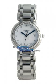 Longines PrimaLuna Quartz 30mm L8.112.0.87.6 watch