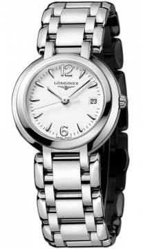 Longines PrimaLuna Quartz 30mm Ladies watch, model number - L8.112.4.16.6, discount price of £585.00 from The Watch Source