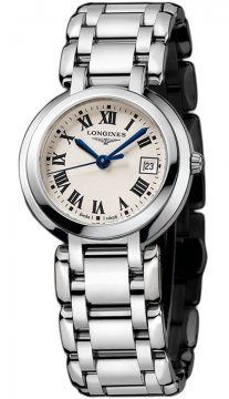 Longines PrimaLuna Quartz 30mm Ladies watch, model number - L8.112.4.71.6, discount price of £572.00 from The Watch Source