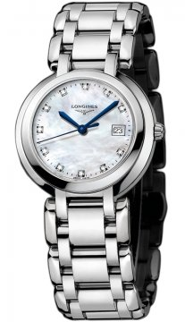 Longines PrimaLuna Quartz 30mm Ladies watch, model number - L8.112.4.87.6, discount price of £713.00 from The Watch Source