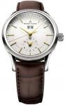 Maurice Lacroix Les Classiques Grande Date GMT lc6088-ss001-130 watch