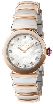 Bulgari Lucea Quartz 28mm Ladies watch, model number - lu28wspgspg/12, discount price of £5,469.00 from The Watch Source