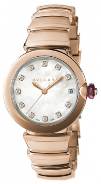 Bulgari Lucea Automatic 33mm Ladies watch, model number - lup33wggd/11, discount price of £16,480.00 from The Watch Source