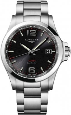 Longines Conquest V.H.P. 43mm L3.726.4.56.6 watch