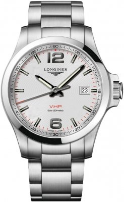Longines Conquest V.H.P. 43mm L3.726.4.76.6 watch