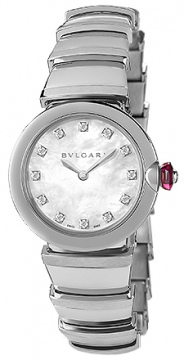 Bulgari Lucea Quartz 28mm Ladies watch, model number - lu28wss/12, discount price of £2,955.00 from The Watch Source