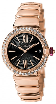 Bulgari Lucea Automatic 33mm Ladies watch, model number - lup33bgdgd, discount price of £21,250.00 from The Watch Source