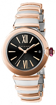 Bulgari Lucea Automatic 33mm Ladies watch, model number - lu33bspgspgd, discount price of £5,644.00 from The Watch Source