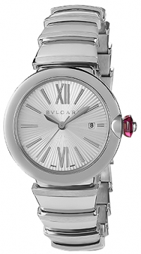 Bulgari Lucea Automatic 33mm Ladies watch, model number - lu33c6ssd, discount price of £2,966.00 from The Watch Source