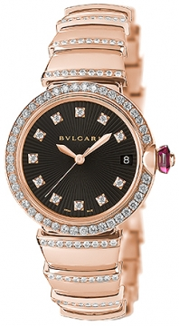 Bulgari Lucea Automatic 33mm Ladies watch, model number - lup33bgdgd1d/11, discount price of £24,225.00 from The Watch Source