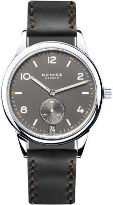 Buy this new Nomos Glashutte Club Automat Datum 41.5mm 774 mens watch for the discount price of £2,261.00. UK Retailer.