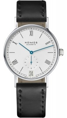 Nomos Glashutte Ludwig 38 Datum 37.5mm 231 watch