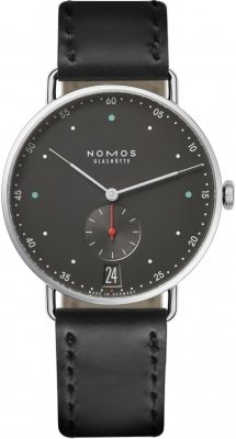 Nomos Glashutte Metro 38 Datum 38.5mm 1103 watch