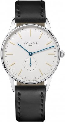Nomos Glashutte Orion 38mm 387 watch
