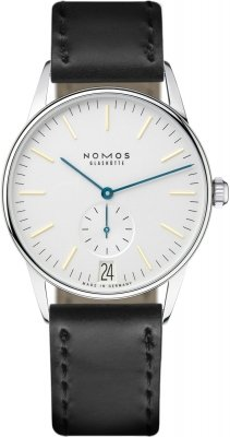 Nomos Glashutte Orion 38 Datum 38mm 380 watch
