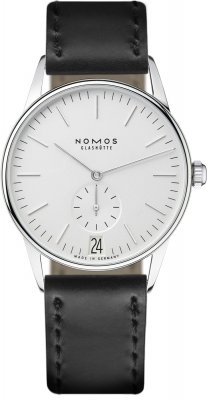 Nomos Glashutte Orion 38 Datum 38mm 381 watch