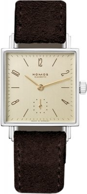 Buy this new Nomos Glashutte Tetra 27.5mm Square 472 ladies watch for the discount price of £1,368.00. UK Retailer.