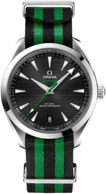 Buy this new Omega Aqua Terra 150M Co-Axial Master Chronometer 41mm 220.12.41.21.01.002 mens watch for the discount price of £3,600.00. UK Retailer.
